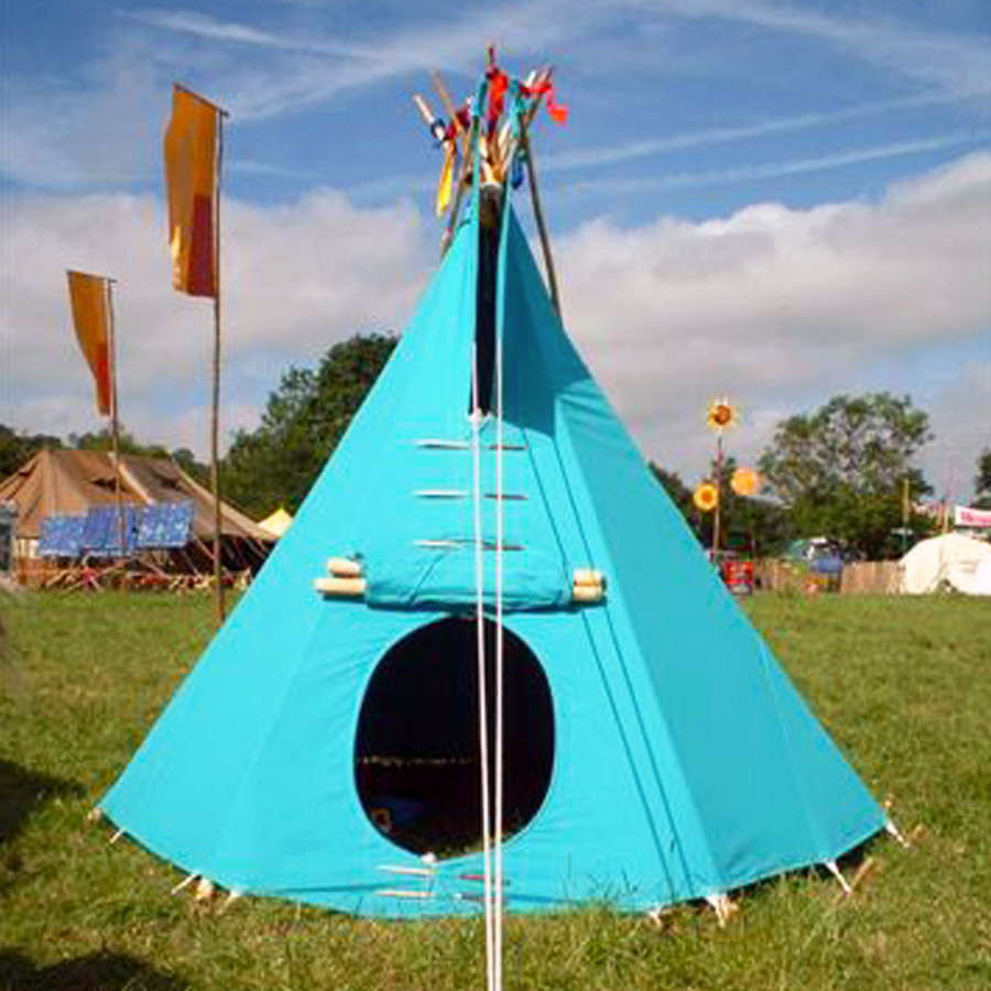 Tipi, Glastonbury
