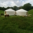 You can have a single yurt or even 2, 3 or 4 yurts attached together.